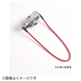 cam-in カムイン カメラストラップ DCS005314 赤/スカイブルー[DCS005314]