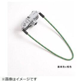 cam-in カムイン カメラストラップ DCS005323 モスグリーン/オレンジ[DCS005323]