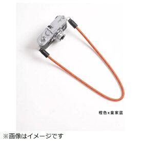 cam-in カムイン カメラストラップ DCS005328 オレンジ/ブルー[DCS005328]