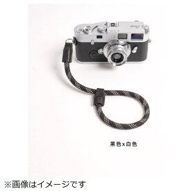cam-in カムイン ハンドストラップ DWS00104 黒/白[DWS00104]