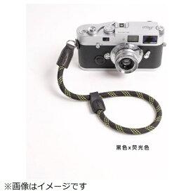 cam-in カムイン ハンドストラップ DWS00105 黒/蛍光イエロー[DWS00105]