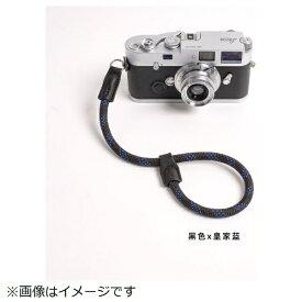 cam-in カムイン ハンドストラップ DWS00106 黒/ブルー[DWS00106]