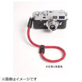 cam-in カムイン ハンドストラップ DWS00114 赤/スカイブルー[DWS00114]