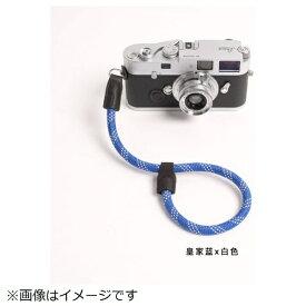 cam-in カムイン ハンドストラップ DWS00116 ブルー/白[DWS00116]