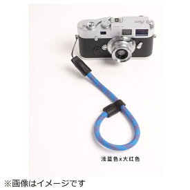 cam-in カムイン ハンドストラップ DWS00119 スカイブルー/赤[DWS00119]