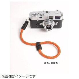 cam-in カムイン ハンドストラップ DWS00127 オレンジ/モスグリーン[DWS00127]