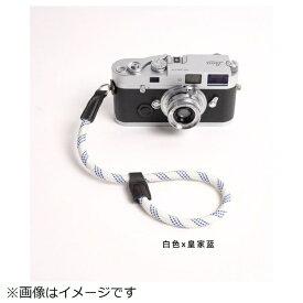 cam-in カムイン ハンドストラップ DWS00129 白/ブルー[DWS00129]