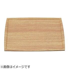 マイン MIN ABSノンスリップ長角盆 薄木目 420×320mm M44-357 <ETL4604>[ETL4604]