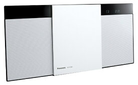 パナソニック Panasonic ミニコンポ SC-HC300-W ホワイト [ワイドFM対応 /Bluetooth対応][CDコンポ SCHC300W]