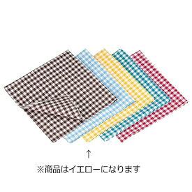 遠藤商事 Endo Shoji ギンガムナフキン No.52200 イエロー <WNP0603>[WNP0603]