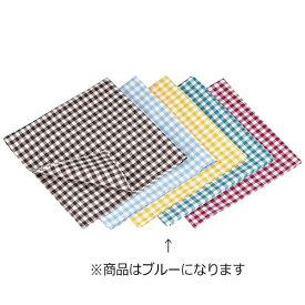 遠藤商事 Endo Shoji ギンガムナフキン No.52200 ブルーグリーン <WNP0604>[WNP0604]