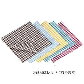 遠藤商事 Endo Shoji ギンガムナフキン No.52200 レッド <WNP0605>[WNP0605]
