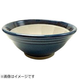 元重製陶所 Motoshige Ceramic 青なまこ スリ鉢(シリコンゴム付) 6号 <BSL5504>[BSL5504]