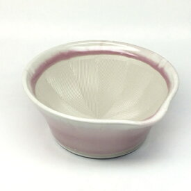 元重製陶所 Motoshige Ceramic 離乳食にも使えるカラーすり鉢 桜色 <BLN0102>[BLN0102]