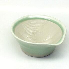 元重製陶所 Motoshige Ceramic 離乳食にも使えるカラーすり鉢 若草色 <BLN0104>[BLN0104]