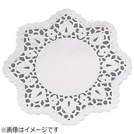 廣川エスベックス ドイリー 丸型レースペーパー (100枚入) 8号 <XLC2105>[XLC2105]