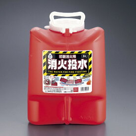 タンゲ化学工業 消火投水 8L レッド <ZMS0201>[ZMS0201]