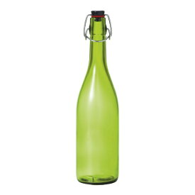 石塚硝子 ISHIZUKA GLASS スイングストッパーボトル 720ml エメラルドグリーン <PSI3301>[PSI3301]