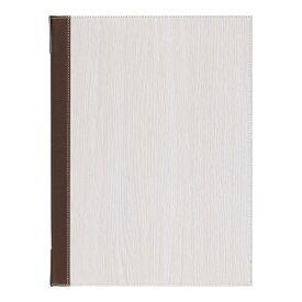 シンビ Shimbi シンビ メニューブック TPE-305 白木 <PMB3002>[PMB3002]