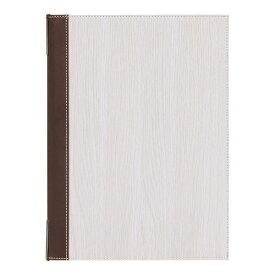 シンビ Shimbi シンビ メニューブック TPE-301 白木 <PMB2802>[PMB2802]