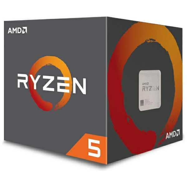 AMD エーエムディー 〔CPU〕 AMD Ryzen 5 2600 with Wraith Stealth cooler YD2600BBAFBOX[YD2600BBAFBOX]