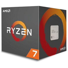 AMD エーエムディー 〔CPU〕 AMD Ryzen 7 2700 with Wraith Spire(LED) cooler YD2700BBAFBOX[YD2700BBAFBOX]