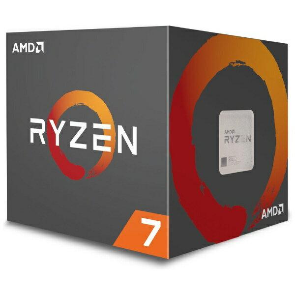 【送料無料】 AMD 〔CPU〕 AMD Ryzen 7 2700X with Wraith Prism cooler YD270XBGAFBOX