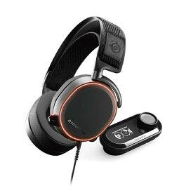 STEELSERIES スティールシリーズ 61453 ゲーミングヘッドセット Arctis Pro + Game DAC ブラック [φ3.5mmミニプラグ+USB /両耳 /ヘッドバンドタイプ][61453]