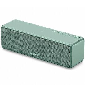 ソニー SONY SRS-HG10GM WiFiスピーカー ホライズングリーン [ハイレゾ対応 /Bluetooth対応 /Wi-Fi対応][SRSHG10GM]