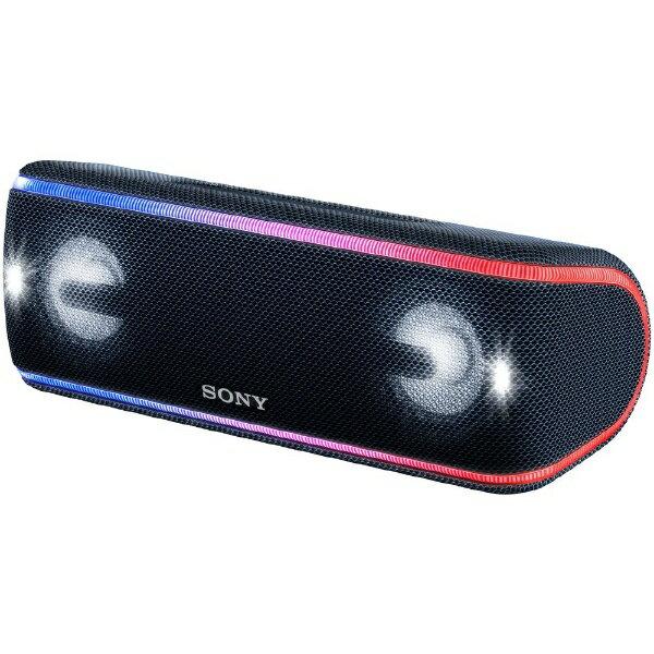 【送料無料】 ソニー SONY ブルートゥーススピーカー SRS-XB41BC ブラック [Bluetooth対応 /防水]