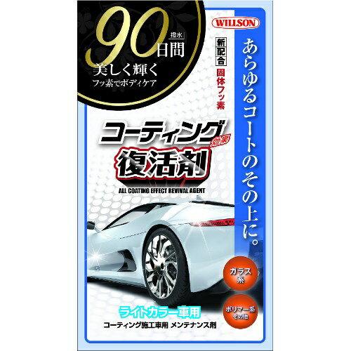 ウィルソン コーティング効果復活剤 ライトカラー車用 内容量:本体 270ml 01292