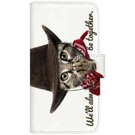 CaseMarket NYAGO iPod-touch5 厚手手帳型ケース カウボーイ ソラちゃん 肉球をペロペロするにゃー。 かわいい猫フェイス手帳 iPod-touch5-BNG2S7068-88 ホワイト[IPODTOUCH5BNG2S70688] 【メーカー直送・代金引換不可・時間指定・返品不可】