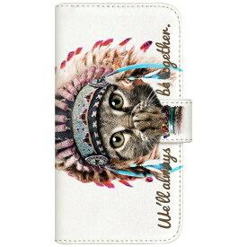 CaseMarket NYAGO iPod-touch6 厚手手帳型ケース インディアン ソラちゃん 肉球をペロペロするにゃー。 かわいい猫フェイス手帳 iPod-touch6-BNG2S7065-88 ホワイト[IPODTOUCH6BNG2S70658] 【メーカー直送・代金引換不可・時間指定・返品不可】