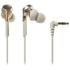 オーディオテクニカ audio-technica イヤホン カナル型 ATH-CKS770X CG シャンパンゴールド [φ3.5mm ミニプラグ /ハイレゾ対応][ATHCKS770XCG]