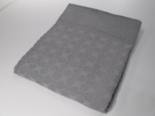 メルクロス 先染ジャガードタオルケット CalmColor(シングルロングサイズ/150×210cm/グレー)