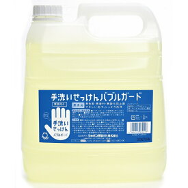 シャボン玉販売 Shabondama Soap バブルガード業務用 (4L) 〔ハンドソープ〕