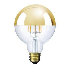 ビートソニック BeatSonic LDF35 LED電球 Siphon(サイフォン) クリア・ゴールドミラー [E26 /電球色 /1個 /40W相当 /ボール電球形]