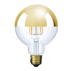 ビートソニック BeatSonic LDF37 LED電球 Siphon(サイフォン) クリア・ゴールドミラー [E26 /電球色 /1個 /40W相当 /ボール電球形]