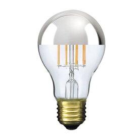 ビートソニック BeatSonic LDF38 LED電球 Siphon(サイフォン) クリア・シルバーミラー [E26 /電球色 /1個 /35W相当 /一般電球形]