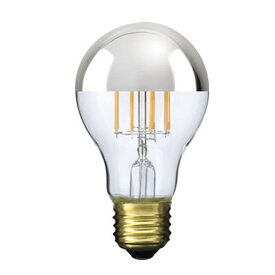ビートソニック BeatSonic LDF40 LED電球 Siphon(サイフォン) クリア・シルバーミラー [E26 /電球色 /1個 /40W相当 /一般電球形]
