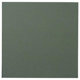 ハクバ HAKUBA 革調SQ台紙 No.272 6切2面 グリーン M272-GRSQ6-2 グリーン