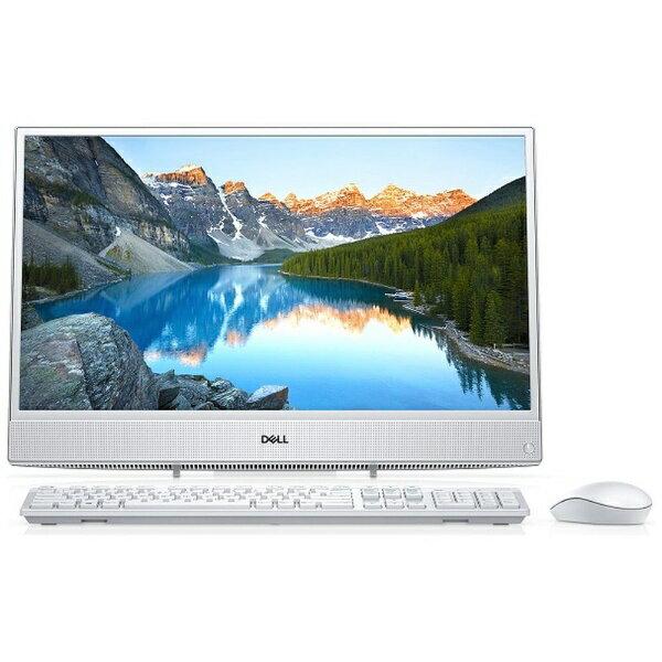 【送料無料】 DELL デル Inspiron 22 3000 3275 21.5型デスクトップPC[Office付き・Win10 Home・AMD E2-9000e・HDD 1TB・メモリ 4GB]2018年春モデル FI06-8HHBW ホワイト