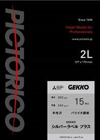 ピクトリコ PICTORICO GEKKOシルバーラベル プラス 2L 15枚入 GKSP-2L/15[GKSP2L15]【wtcomo】