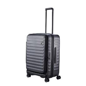 LOJEL ロジェール スーツケース 70L(77L) CUBO ブラック N-Cubo-M [TSAロック搭載]