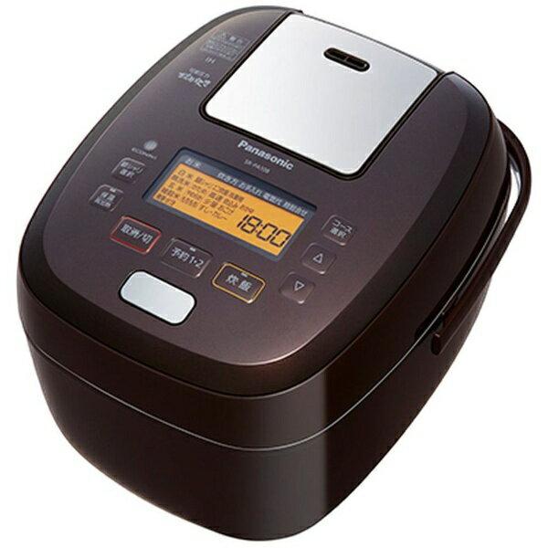 パナソニック Panasonic SR-PA108 炊飯器 可変圧力おどり炊き ブラウン [5.5合 /圧力IH][SRPA108]