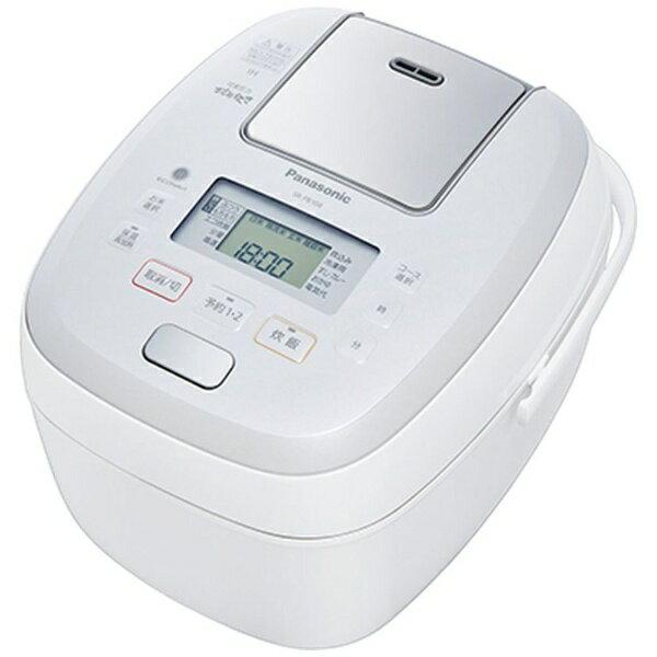 パナソニック Panasonic SR-PB108 炊飯器 可変圧力おどり炊き ホワイト [5.5合 /圧力IH][SRPB108]