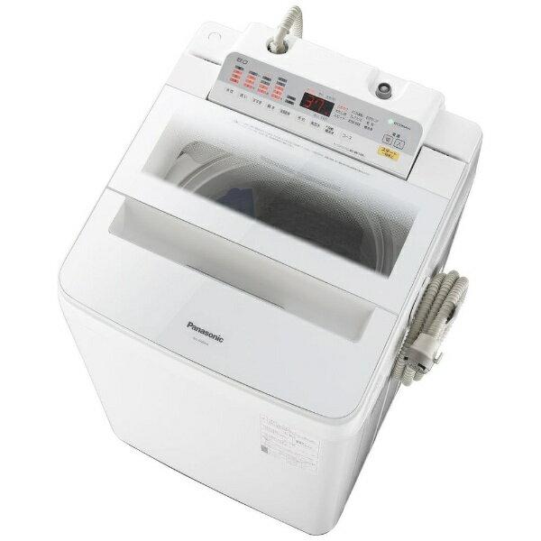 【送料無料】 パナソニック Panasonic 【10%OFFクーポン配布中! 1/17 23:59まで】NA-FA80H6-W 全自動洗濯機 ホワイト [洗濯8.0kg /乾燥機能無 /上開き]【洗濯機】