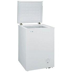 GE 日本ゼネラル 《基本設置料金セット》JH94CR 冷凍庫 ホワイト [1ドア /上開き /94L][JH94CR]