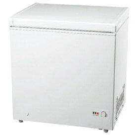 グラソン 《基本設置料金セット》GLF-193W 冷凍庫 ホワイト [1ドア /上開き /193L][GLF193W]
