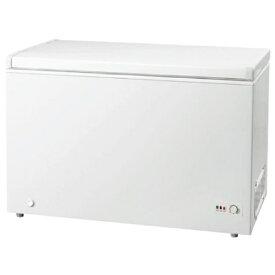 グラソン 《基本設置料金セット》冷凍庫 ホワイト GLF-300W [1ドア /上開き /300L][GLF300W]